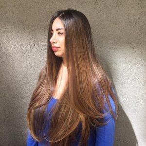 Sun-Kissed Rapunzel Hair
