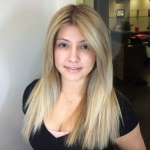 Straight-Forward Blonde