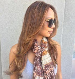 Long Haircut without Bangs